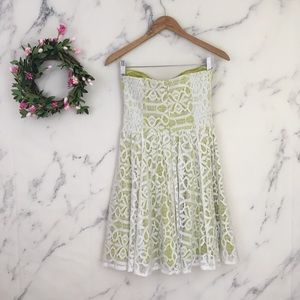 Guess Dresses - Guess Strapless Lace Dress
